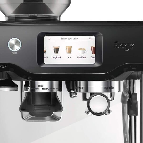 Sage Barista Touch Espresso machine control panel