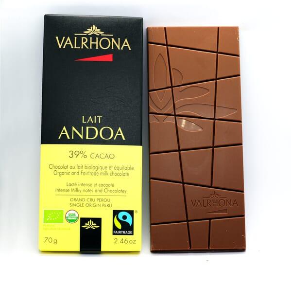 Valrhona Andoa Lait chocolate bar