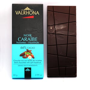 Valrhona Caraibe chocolate bar