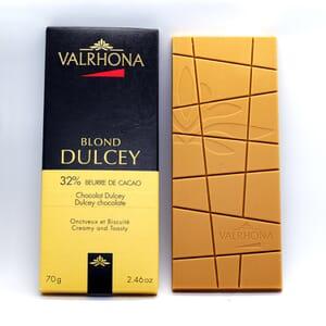 Valrhona Dulcey Blond chocolate bar