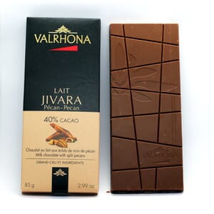 Valrhona Jivara chocolate bar