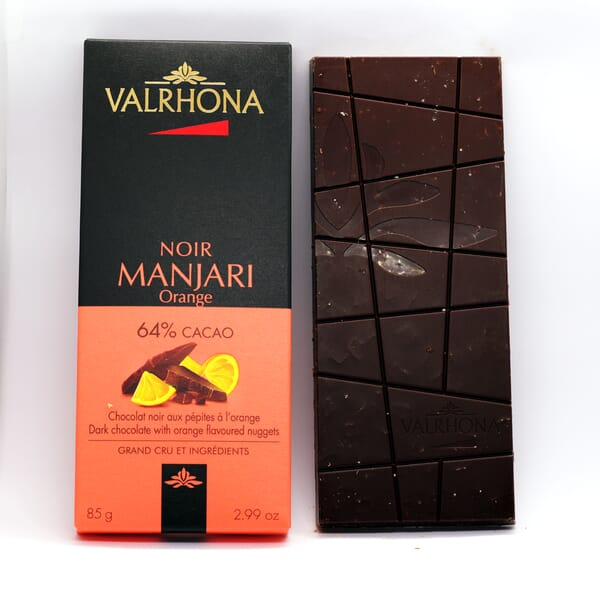 Valrhona Manjari chocolate bar
