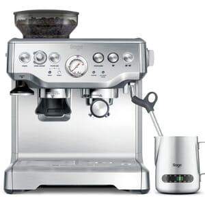 Sage Barista Expresss brushed steel espresso machine