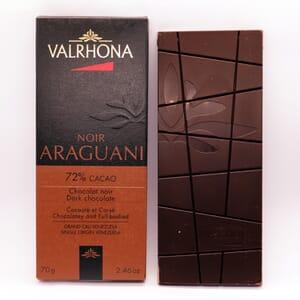Valrhona Noir Araguani chocolate bar