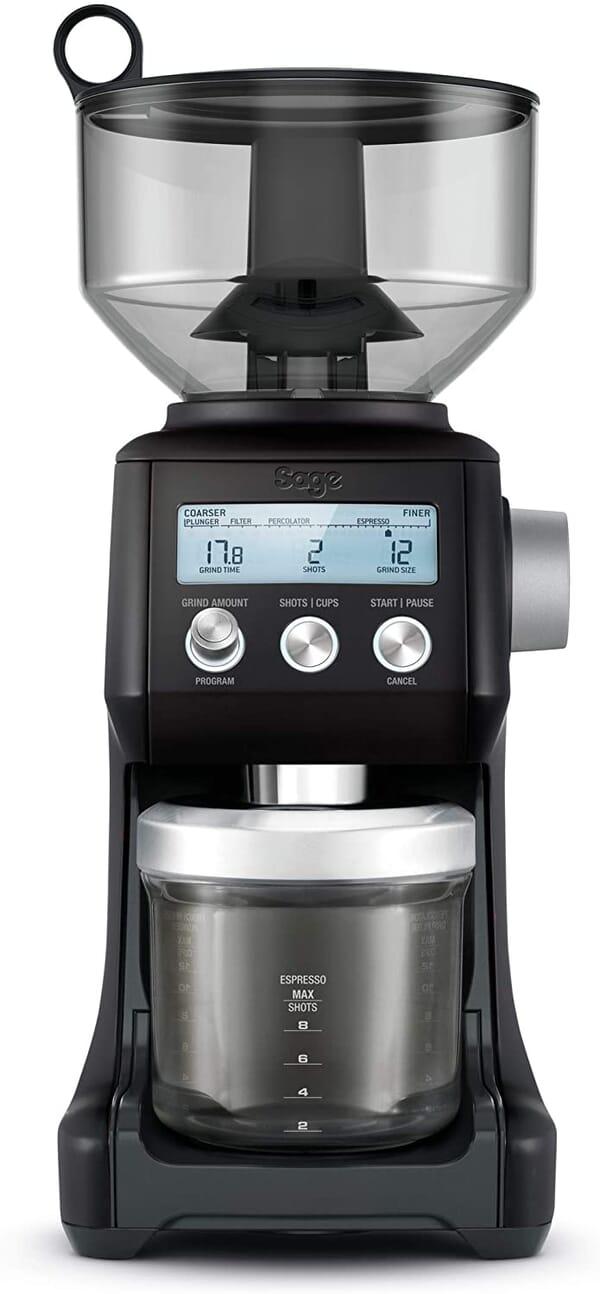 Sage smart grinder black front